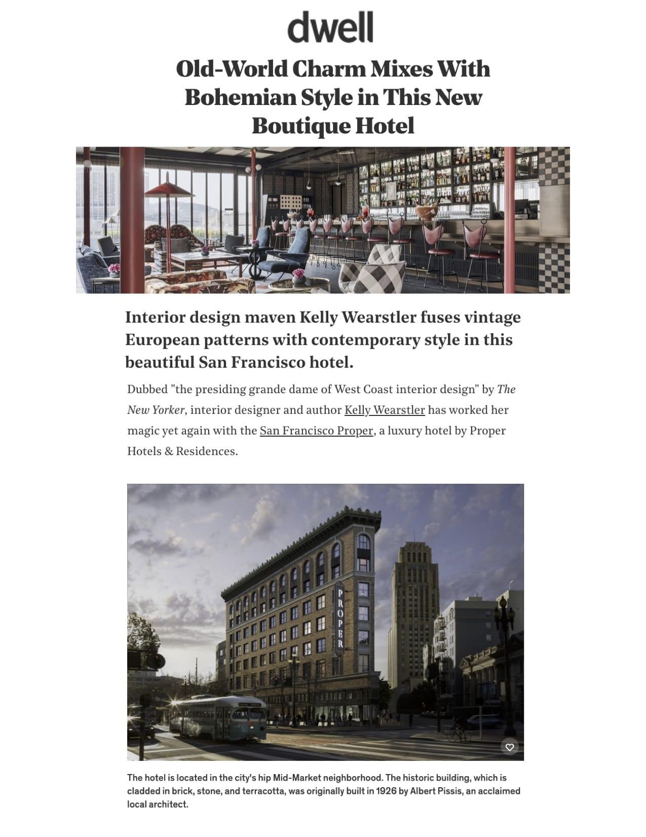 San Francisco Proper Hotel Image